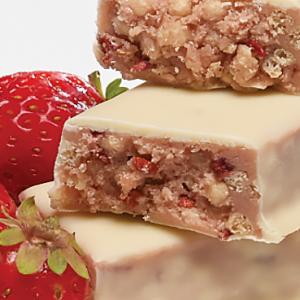 Barres shortcake aux fraises